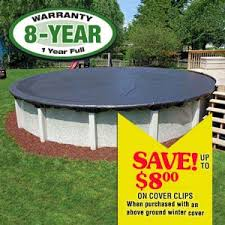 above ground pool covers. Economy Winter Pool Cover 33 Ft Round Above Ground Covers