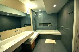 modern bathtub shower corner with combo from tub combination 54 inch