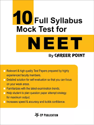 10 Full Syllabus Mock Tests For Neet By Career Point Kota
