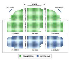 carolina theater seating chart awesome broadhurst theatre broadway seating charts