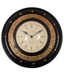 ecraftindia vintage wooden wall clock