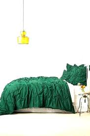 emerald green quilt cover set
