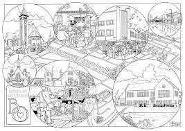 Kleurplaten Landschappen Volwassenen Kids N Fun De 10 Ausmalbilder
