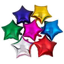 50pcs/lot Star Shape Foil Mylar Helium Ballon 18 ... - Amazon.com