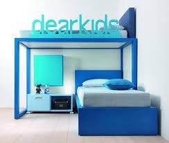 Cool modern children bedrooms furniture ideas Teenage Unique Detachable Side Rail With Dear Kids Letter Idea Feat Cool Children Bedroom Furniture With Bold Amaza Design Kids Bedroom Furniture Ideas In Smart Placement Amaza Design