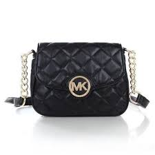 Michael Kors Fulton Quilted Leather Small Black Crossbody Bags ... & Michael Kors Fulton Quilted Leather Small Black Crossbody Bags Adamdwight.com