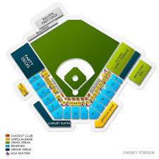 El Paso Chihuahua Stadium Seating Chart Tacoma Rainiers Tickets Ticketcity