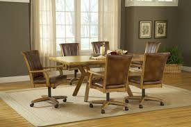 adorable dining room sets with caster chairs of casters design ideas pertaining to fascinating dining room