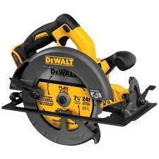 dewalt skil saw. dewalt flexvolt 60-volt max lithium-ion cordless brushless 7-1/4 in. circular saw (tool-only)-dcs575b - the home depot dewalt skil