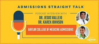 baylor letter of recommendation baylor college of medicine admissions