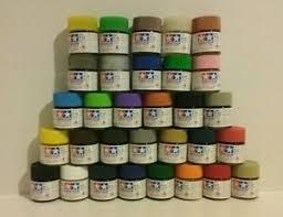 Tamiya Paint Chart