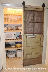 remodelaholic sliding barn door pantry makeover with wood slat with dimensions 1067 x 1600