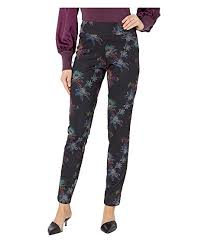Krazy Larry Pull On Printed Ponte Long Pants At Zappos Com