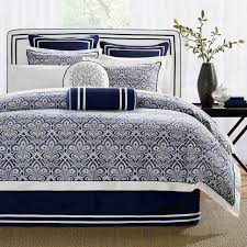 navy and white bedding blue navy white king comforter set 10 pc