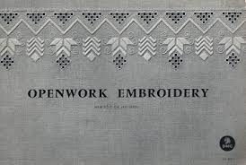 Dmcヴィンテージ図案集 ドロンワークパータン Openwork Embroidery 旅する本屋 古書玉椿