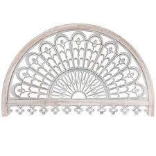 whitewash arch metal wall decor hobby