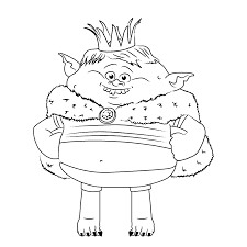 Top 15 Trolls Coloring Pages Beginning Of Year Troll Coloring