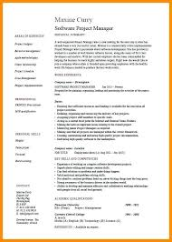 Agile Resume New Agile Project Manager Resumes Bino48terrainsco