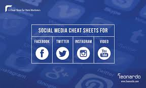 Cheat Sheets For Facebook Twitter Instagram And Video