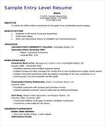 16 basic education resumes free premium templates entry level teacher resume  - Enterprise Management Trainee Resume