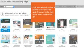 Online Quiz Templates How to add a quiz to your Unbounce landing page Interact 81