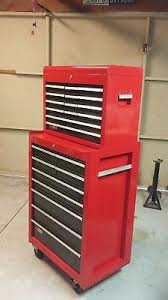 craftsman tool cabinet. vintage sears craftsman tool box, cabnet and chest. cabinet