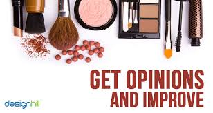 if some experts suggest improvements in your cosmetics logo think of correcting it similarly be prepared to do amendments in your marketing plans