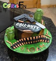 Call of Duty Black Ops cakes on Pinterest