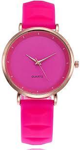 COOKI Womens Quartz Watch Simple Style Silica Gel ... - Amazon.com