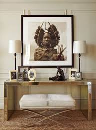 inspiring aged mirror console table designs