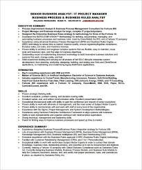 sample resume for business analyst sample resume business analyst industry screnshoots fine examples