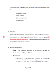 This consulting agreement (the agreement) is made and effective date, between: Consulting Agreement Free Sample Docsketch