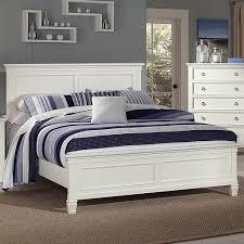 New Classic Bedroom Furniture New Classic Tamarack Queen Panel Headboard And Footboard Bed