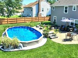semi inground pool cost. Semi Inground Pool Cost Costs Partial Installation Kit . P