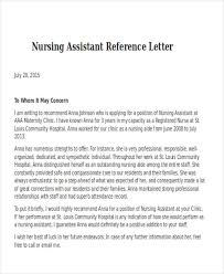 Cna Recommendation Letter Sample - April.onthemarch.co