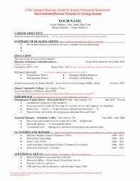 Modern Day Resume Format Fresh Current Resume Format 2017