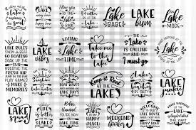 The functionality, correctness and/or uninterrupted availability of this free qr code generator service are not guaranteed. Lake Svg Bundle Graphic By Illustrator Guru Creative Fabrica Lake Quotes Lake Life Quotes Lake