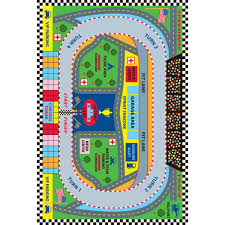 la rug fun time sdway multi colored 3 ft x 5 ft area rug