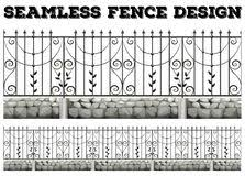 Metal fence design Outdoor Seamless Fence Design With Metal Fence Stock Vector Illustration Of Illustration Pattern 66021916 Teentrendsclub Seamless Fence Design With Metal Fence Stock Vector Illustration