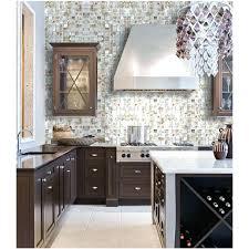 mother of pearl natural seashell mosaic iridescence tile classic kitchen designs shell backsplash tiles pea