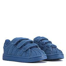 adidas shoes superstar blue. adidas infant sneaker superstar shoes blue a