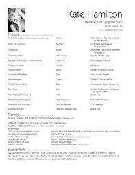 Fashion Show Resume Examples New Hair Stylist Resume Templates And