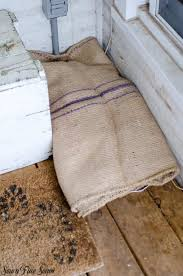 burlap area rug inspirational using burlap in unexpected ways a rug and a cat bed