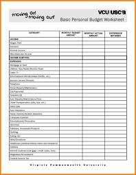 Sample Household Budgets Sample Household Budget Sheet And Bud Spreadsheet Household