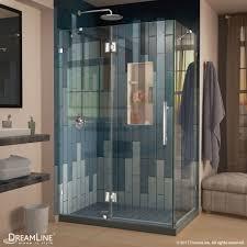 quatra lux hinged shower enclosure