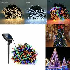 100 White Outdoor Led Solar Fairy Lights Details About 100 Led Solar Power Fairy Lights String Garden Outdoor Party Wedding Xmas 12m Up