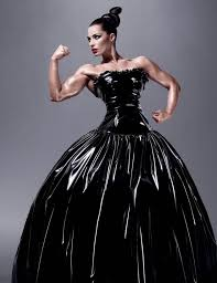 jelena abbou a serbian american female bodybuilder and newest mac model