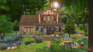 Small Picture Sims4 Forest Cabin Pics Only Rubys Home Design