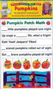 Amazon Com Scholastic Interactive Pocket Charts Pumpkins