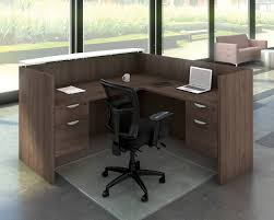 office reception counters. Classic Gallery Reception Desk 3/4 Pedestal With Floating Transaction Top And Optional Addtional 3 Office Counters R